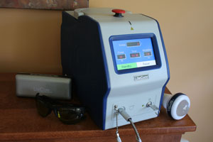 The LCT-1000 Class IV Laser is an innovative, scientifically based, therapeutic modality for the treatment of inflammation and pain. The Class IV assists in the natural healing process without the use of drugs, injections or surgery.